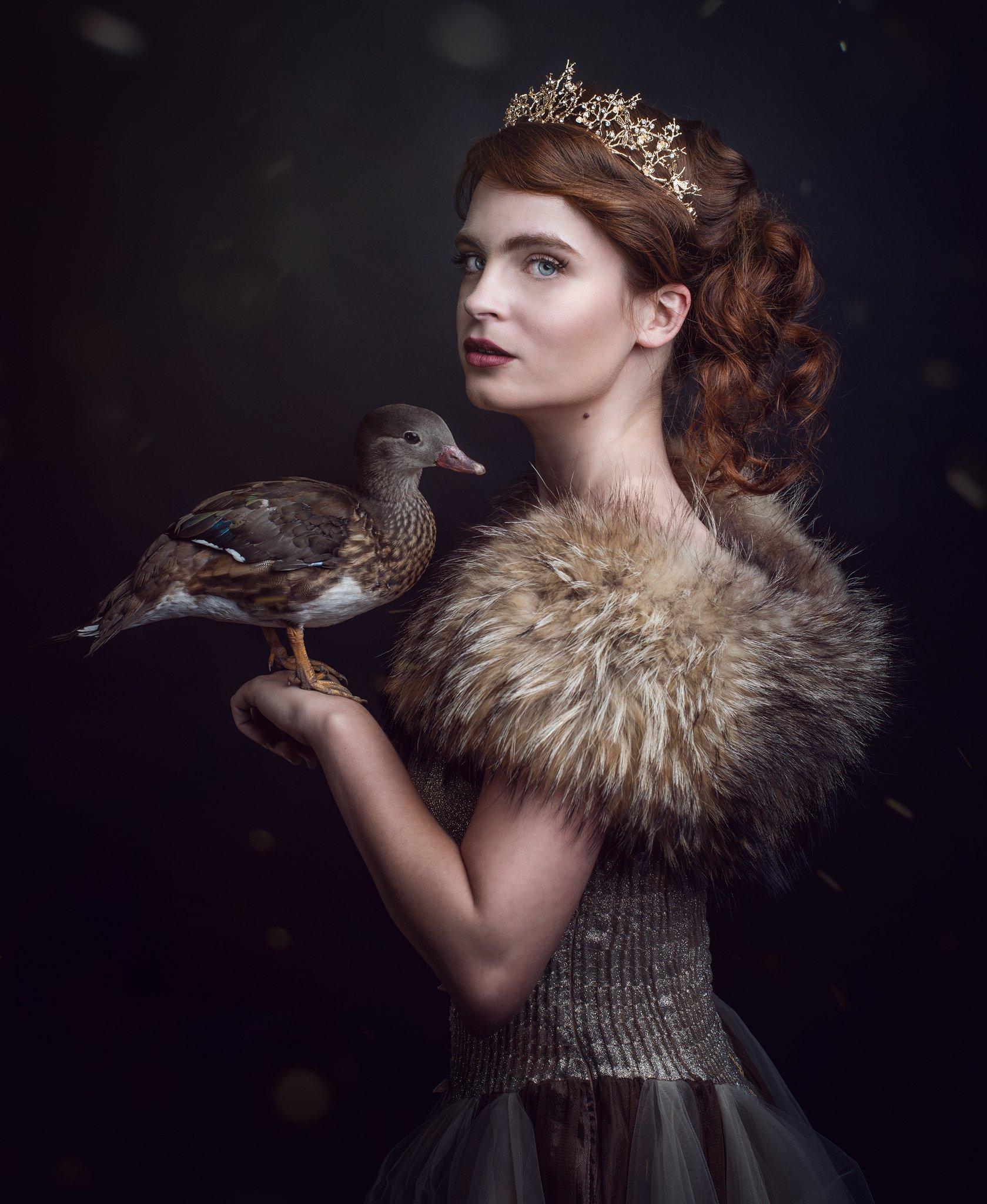 Royal Pet Portrait - Kelly