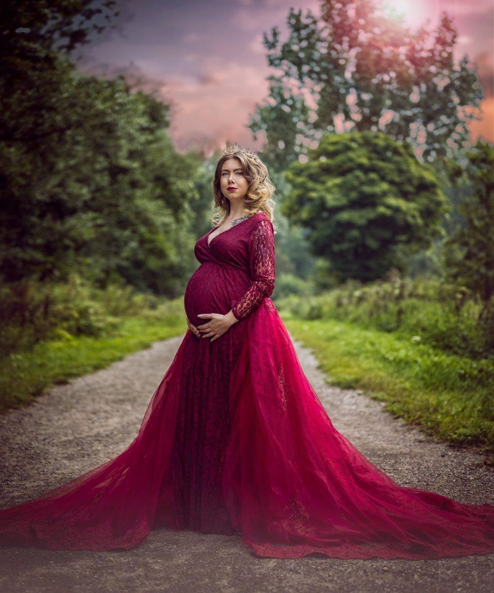 Zwangerschapsfotografie - Sandra