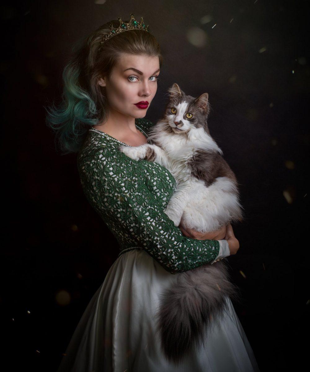 Royal Pet Portrait - Marije